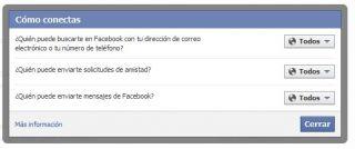 Configuración Facebook
