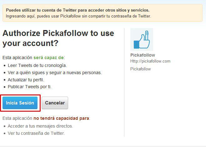 Pickafollow